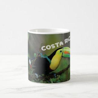 Taza De Café Costa Rica con Toucan