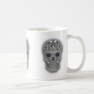 Taza De Café Cráneo del azúcar del Victorian