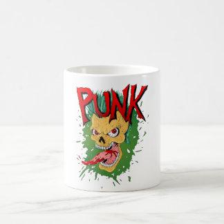 Taza De Café Cráneo del punk rock