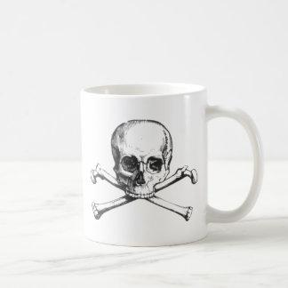 Taza De Café Cráneo y Crossbone del pirata
