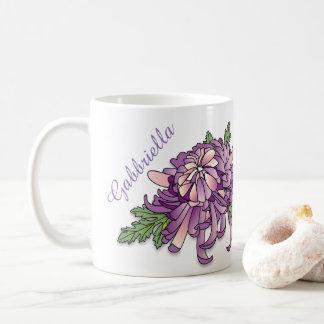 Taza De Café Crisantemo