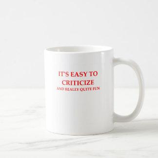 TAZA DE CAFÉ CRÍTICO