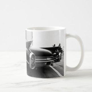 Taza De Café Cromo de las aletas N de Cadillac