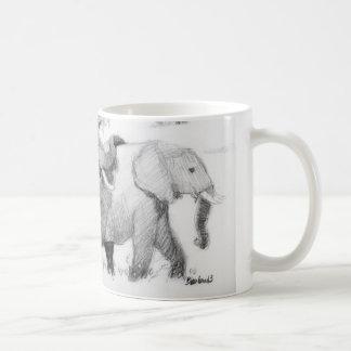 Taza De Café Cruzado de Elepephants