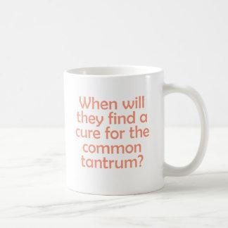 Taza De Café ¿Cuándo encontrarán una curación para la rabieta