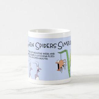 Taza De Café Cuando las arañas simplifican