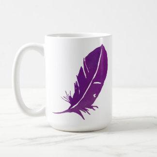 Taza De Café Cuando los ángeles de Aparecer de las plumas están