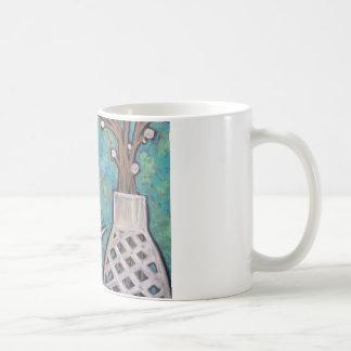 Taza De Café Cuando me caigo subiré, café de la mañana