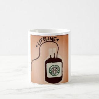 Taza De Café Cuerda de salvamento