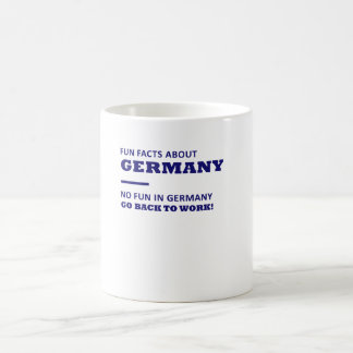 Taza De Café Datos divertidos sobre Alemania, ninguna diversión