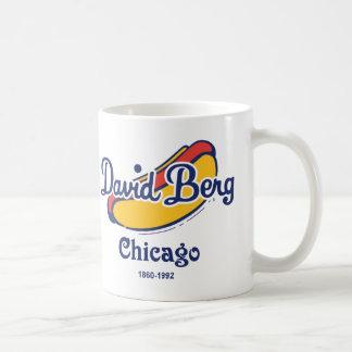 Taza De Café David Berg & Company, Chicago 1860-1992