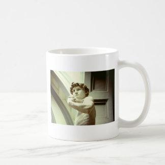 Taza De Café David - la imagen eterna de Florencia
