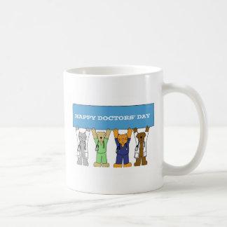 Taza De Café Day del doctor feliz