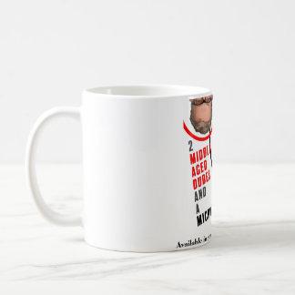 Taza de café de 2 tipos