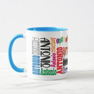 Taza de café de Antonio