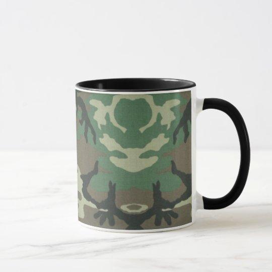 Taza de café de Camoflage