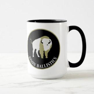 Taza de café de cerámica de la balística del