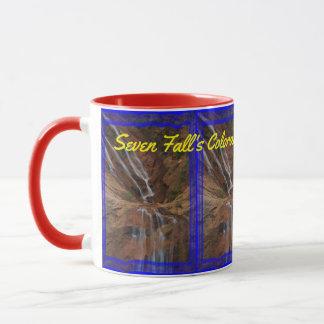 ¡Taza de café de Colorado de siete caídas!! Taza
