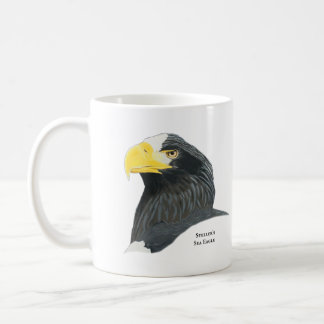 Taza de café de Eagle del mar de Steller
