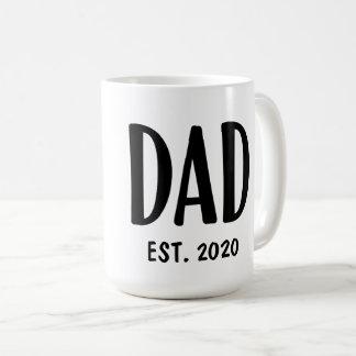 Taza de café de encargo del papá del día de padre