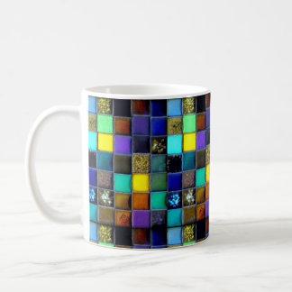 Taza de café de la baldosa cerámica el | intrépido