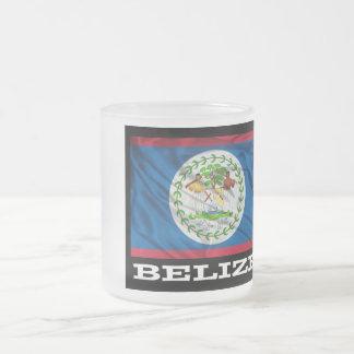 Taza de café de la bandera de Belice