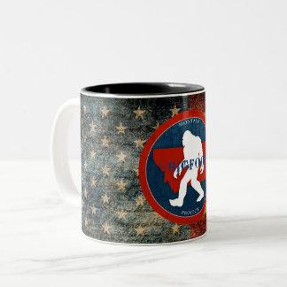 Taza de café de la bandera del proyecto de Montana
