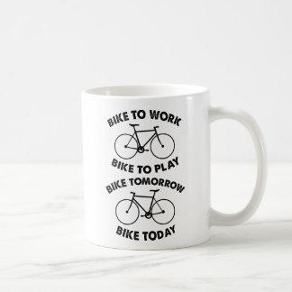 Taza De Café De la bici ciclo fresco para siempre -
