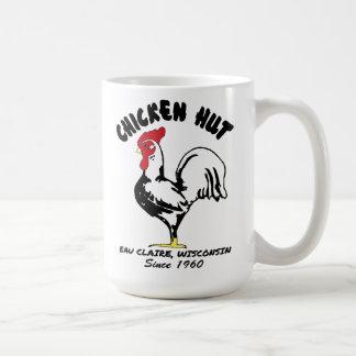 taza de café de la choza del pollo de 15 onzas