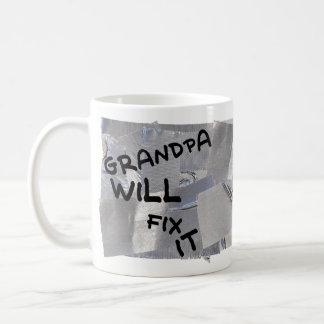 Taza de café de la cinta aislante - el abuelo la