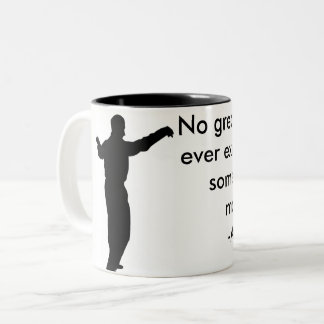 Taza de café de la cita de Aristóteles