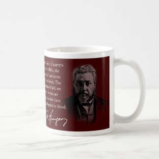 Taza de café de la cita de Spurgeon la biblia