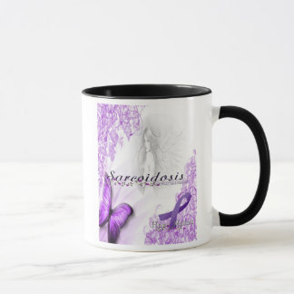 Taza de café de la conciencia de la sarcoidosis
