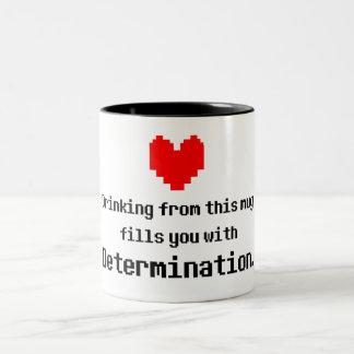Taza de café de la determinación