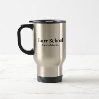 Taza de café de la escuela de las rebabas