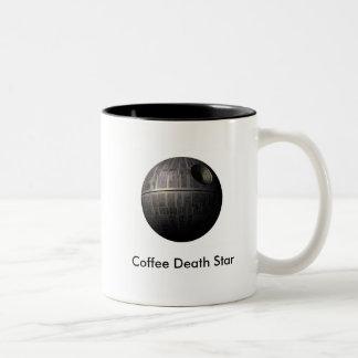 Taza de café de la estrella de la muerte del café