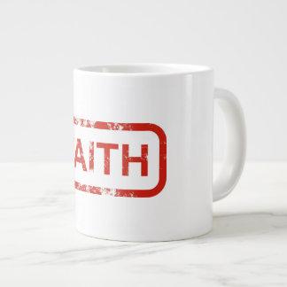 Taza de café de la fe