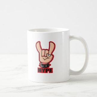 Taza de café de la flámula de ReebTheDweeb