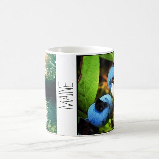 Taza de café de la foto de Maine