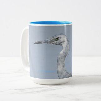 Taza de café de la garza