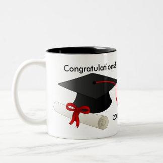 Taza de café de la graduación 2017