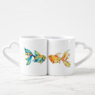 Taza de café de la jerarquización fijada con el