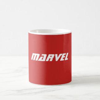 Taza de café de la maravilla (roja)