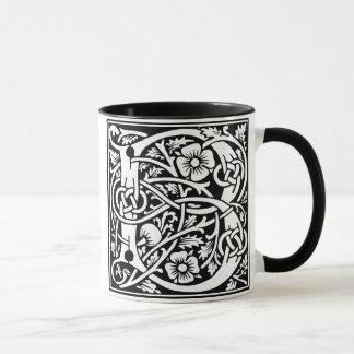 Taza de café de la mayúscula B