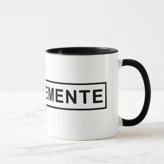 Taza de café de la muestra de San Clemente