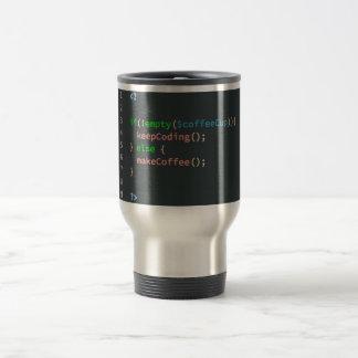 Taza de café de la necesidad - informático del PHP