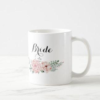 Taza de café de la novia