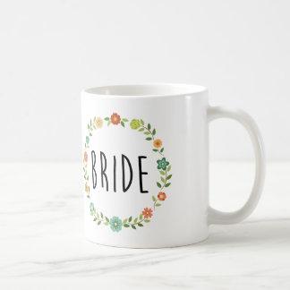 Taza de café de la novia el |