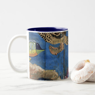 Taza de café de la pintura Cute Debajo Del Agua