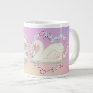 Taza de café de la princesa del cisne
